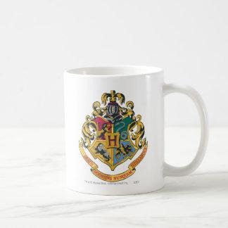Crête de Hogwarts polychrome Mug Blanc