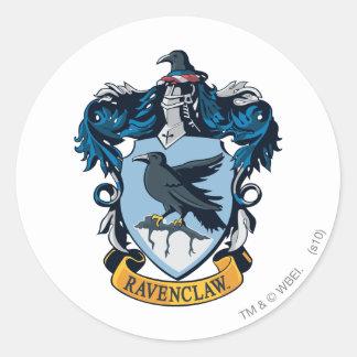 Crête de Ravenclaw Sticker Rond