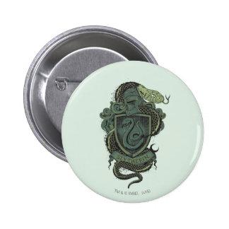 Crête de SLYTHERIN™ Badge Rond 5 Cm