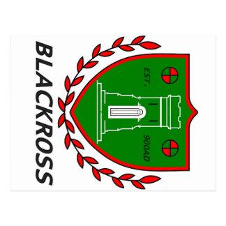Crête de ville de carte postale de Blackross