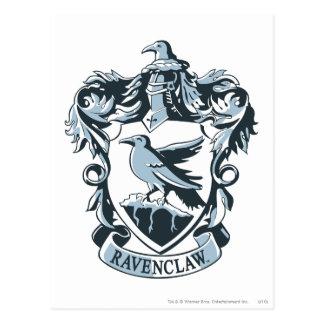 Crête moderne de Harry Potter   Ravenclaw Carte Postale