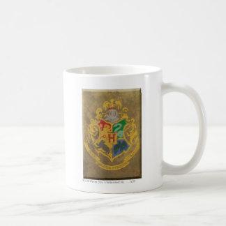 Crête rustique de Harry Potter | Hogwarts Mug Blanc