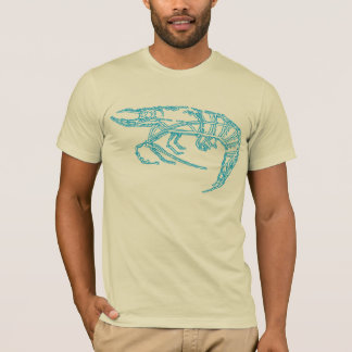 Crevette bleue t-shirt