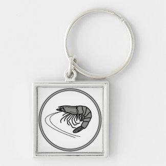 Crevette rose grise - collection de crabe de porte-clés