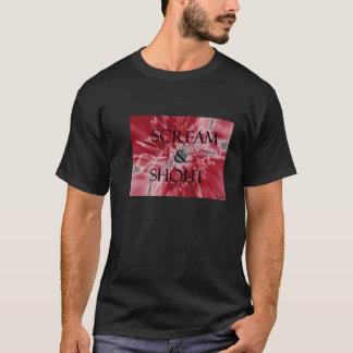 Cri perçant et Cri-Noir T-shirt