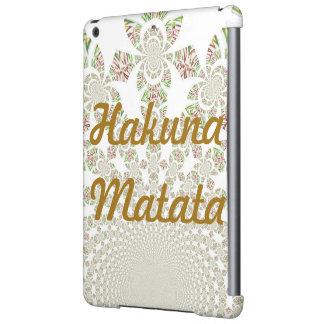 Crique d'iPad de modèle de Hakuna Matata Ipad