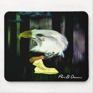 Cris Mousepad d'Eagle d'Américain Tapis De Souris