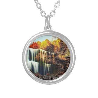 Cristal - collier rond de cascade claire
