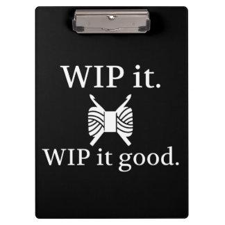Crochet • WIP il bons métiers {foncés}