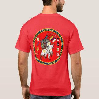 Croisés sur la chemise de joint de mars t-shirt