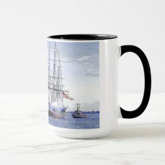 Croisière de revirement :  Constitution d'USS Mug
