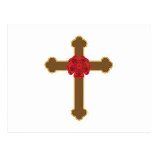 Croix attrayante carte postale