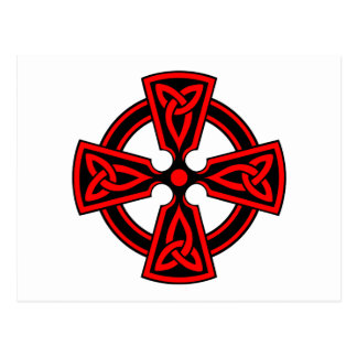 CROIX CELTIQUE - CELT/IRISH/IRELAND/IRISH/IRISHMAN CARTE POSTALE