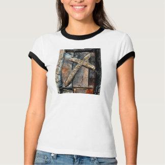 Croix de force et de prière pour la guérison t-shirt