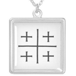 Croix de Jérusalem Collier