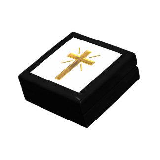 Croix d'or 4 boîte à souvenirs