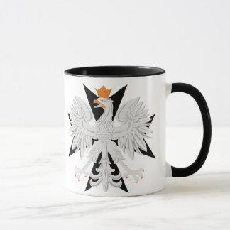 Croix maltaise polonaise d'Eagle Mug