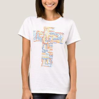 Croix religieuse t-shirt