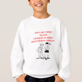 CROQUET SWEATSHIRT
