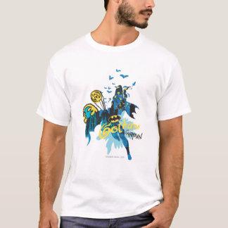 Croquis de carnet de gardien de Batman Gotham T-shirt