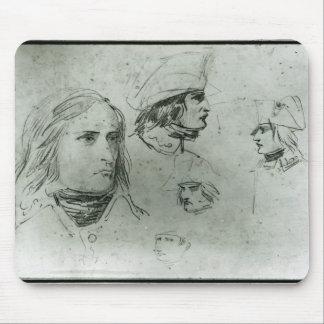Croquis de Napoleon Bonaparte, 1797 Tapis De Souris