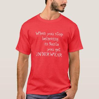 Croyance de père Noël de T-shirt