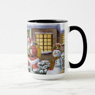 Croyez à la tasse de café de Père Noël