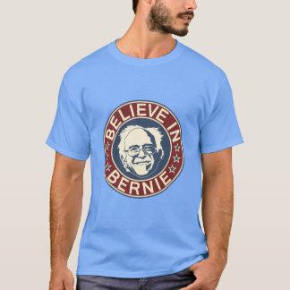 Croyez au T-shirt de Bernie (bleu)
