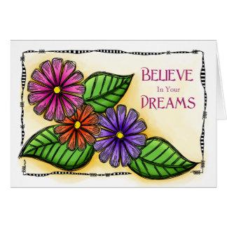 Croyez en vos rêves carte