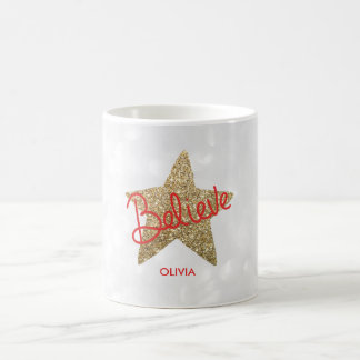 Croyez la tasse de Noël de l'étoile | de parties
