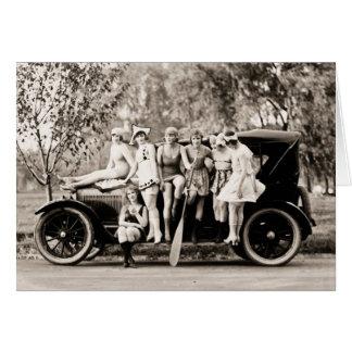 Cru 1918 de filles de Mack Sennett Carte