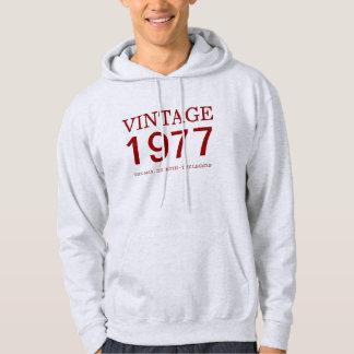 cru 1977 l'homme, le mythe, la légende veste à capuche