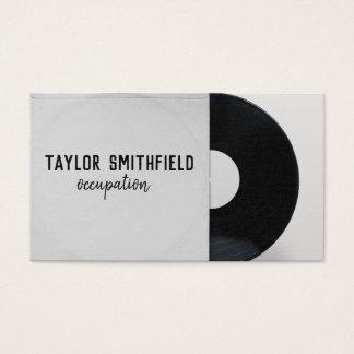 cru de carte d'industrie musicale de disque vinyle