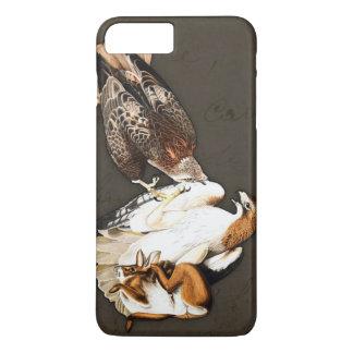 Cru de chasse à faucons coque iPhone 7 plus