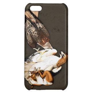 Cru de chasse à faucons coque pour iPhone 5C