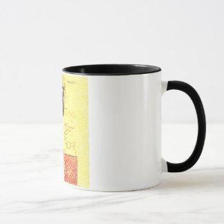 Cru de chat noir mug