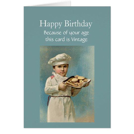 Cru de joyeux anniversaire puisque je vous aime carte de vœux