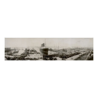 Cru de Lusitania de RMS New York City 1907