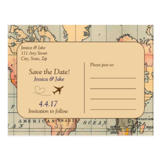 Cru, économies de mariage de voyage la carte