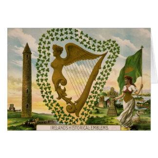 Cru : Le jour de Patrick de saint - Carte