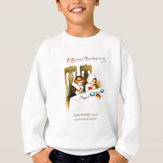 Cru par thanksgiving béni sweatshirt