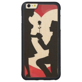 Cru : Saint-Valentin - Coque Pare-chocs Mince En Érable iPhone 6 Plus