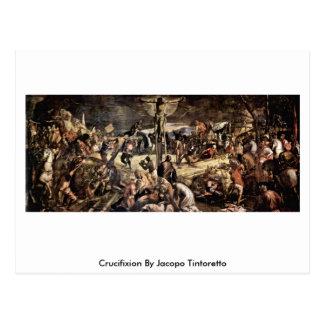 Crucifixion par Jacopo Tintoretto Carte Postale
