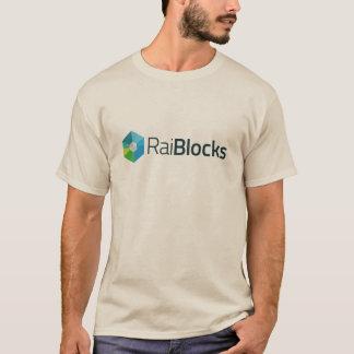 Crypto T-shirt de devise de RaiBlocks (XRB)