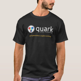 Crypto T-shirt   Quarkcoin de devise de quark