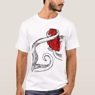Cthulhu a volé mon T-shirt de coeur - tentacules