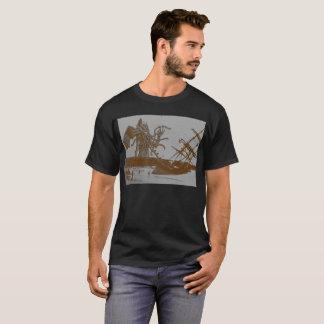 Cthulhu détruit le T-shirt