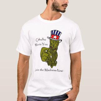 Cthulhu vous veut ! Le T-shirt des hommes