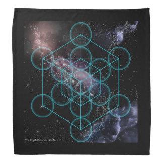 Cube en manifestation de Metatrons Bandanas