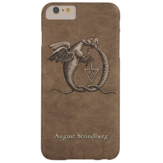 Cuir de dragons d'Ouroboros customisé Coque Barely There iPhone 6 Plus